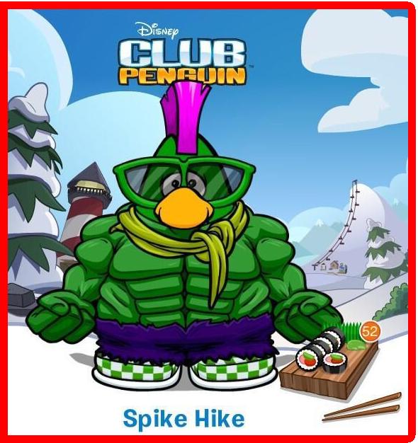 ¡Spike Hike Uso My Penguin!